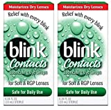 Amo Blink Contacts Lubricating Eye Drops, 3 Count