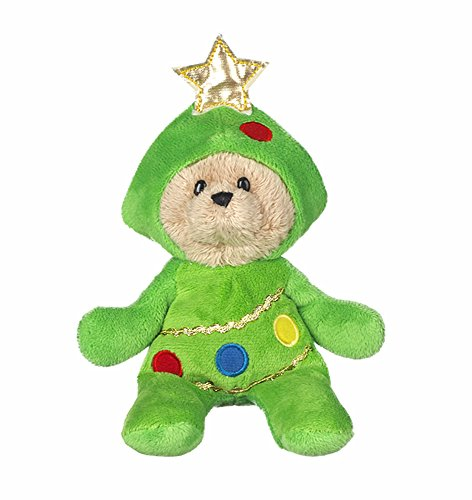 Ganz Wee Bears Costumed Teddy Bear: Decorated Christmas Tree (Christmas Teddy Tree Bear)