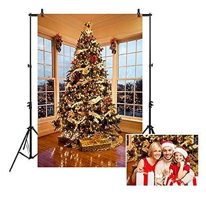 Amazon Com Allenjoy 5x7ft Christmas Tree With Presents Photography