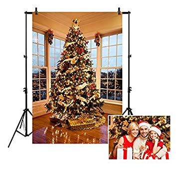 Amazoncom Allenjoy 5x7ft Christmas Tree With Presents Photography