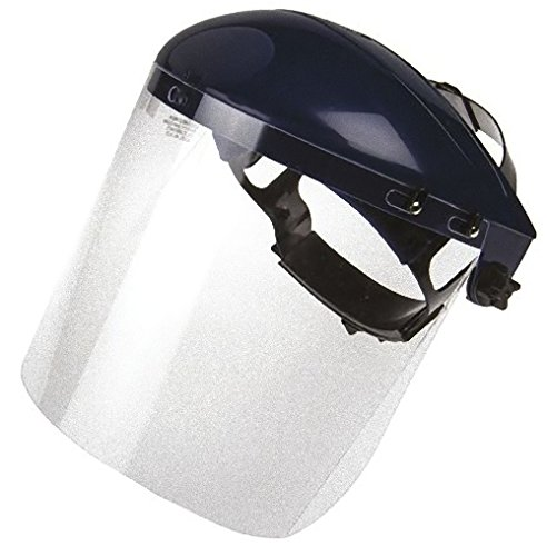 Gesichtsschutz Visier Bollé b-LINE Kopfhalter mit Polycarbonat-Scheibe