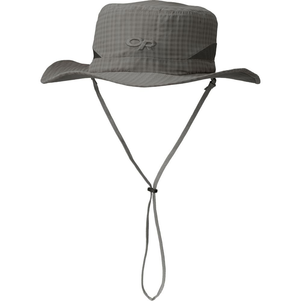 Outdoor Research Sol Sun Hat, Pewter Check, X-Large