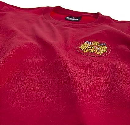 COPA Football - Camiseta Retro España 1978 (M): Amazon.es ...