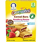 organic apple juice gerber - Gerber Graduates Banana Strawberry Cereal Bar,  5.5 oz