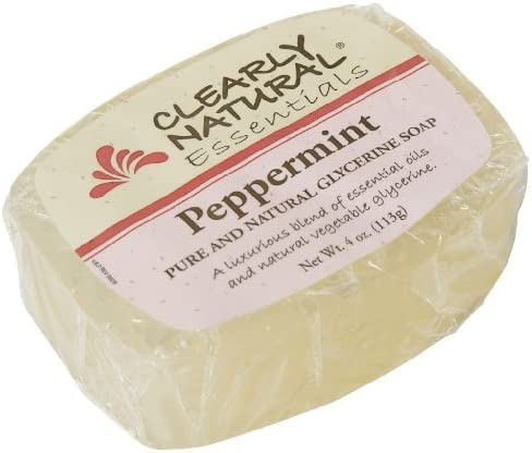 Clearly Natural Soap Bar Glyc Peppermint