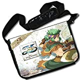 MovieWallscrolls Y's Seven Video Game Stylish Laptop Messenger Bag (15 x 11) Inches [MB] Y's Seven- 11