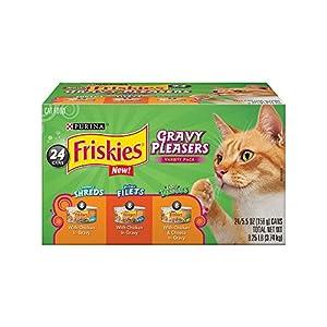 Purina Friskies Gravy Cravers Variety Pack Cat Food - (24) 8.25 lb. Box