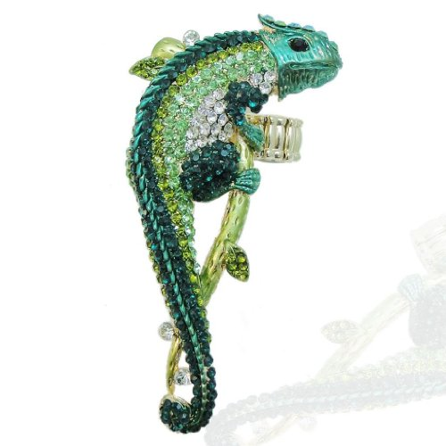 EVER FAITH Gold Tone Chameleon Adjustable product image
