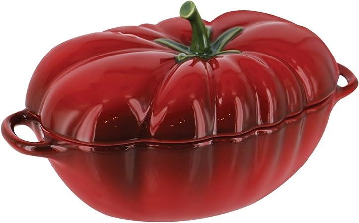 Staub 40511-855 Ceramics Petite Tomato Cocotte, 16-oz, Cherry