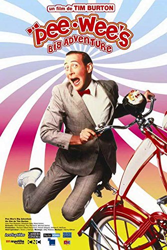 Movie Posters 27 x 40 Pee wee's Big Adventure