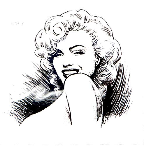 Marilyn Monroe temporary tattoo party event fun cheap body makeup transfers for adults -