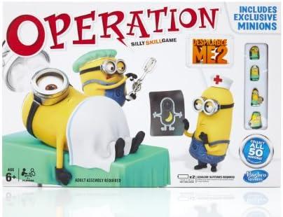 Hasbro Juegos Infantiles Operación GRU, mi Villano Favorito ...