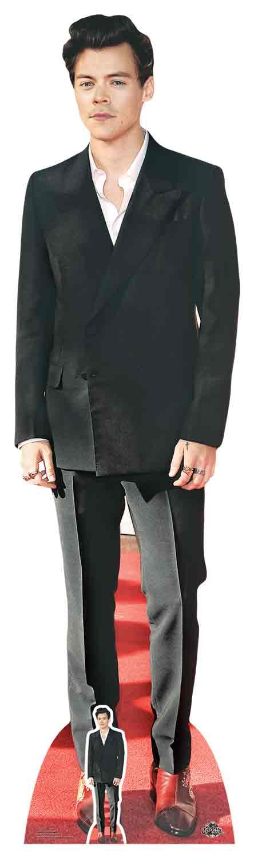 Star Cutouts Ltd STAR CUTOUTS Harry Styles Red Shoes, cardboard, Multi-Colour, 3 x 49 x 182 cm CS734