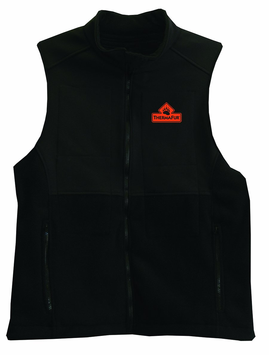 ThermaFur 5529S Air Activated Heated Vest with Soft-shell, Medium