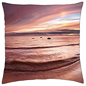 Sunset - Throw Pillow Cover Case (18