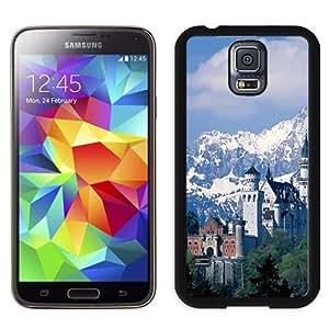 New Beautiful Custom Designed Cover Case For Samsung Galaxy S5 I9600 G900a G900v G900p G900t G900w With Neuschwanstein Castle Phone Case