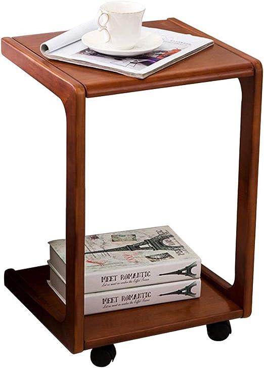 Mesas auxiliares de salón Mesa de Centro Ajustable en Forma de U ...
