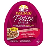 Cheap Wellness Petite Entrees Casserole Natural Grain Free Wet Small Breed Dog Food, Braised Beef & Salmon, 3-Ounce Cup (Pack Of 24)
