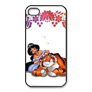 iphone4 4s Phone Case Black Jasmine ES3TY7832097