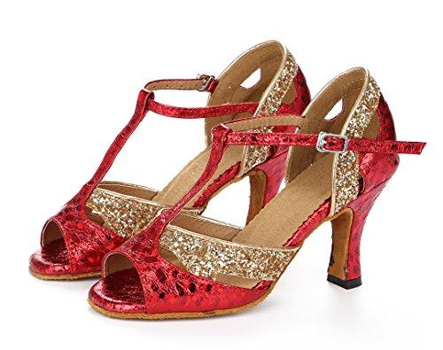 Moderno 8cm Joymod Heel Jazz Red Donna MGM e tYAx1qwnH
