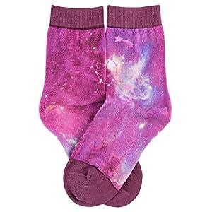 FALKE Girl's Galaxy Print Calf Socks