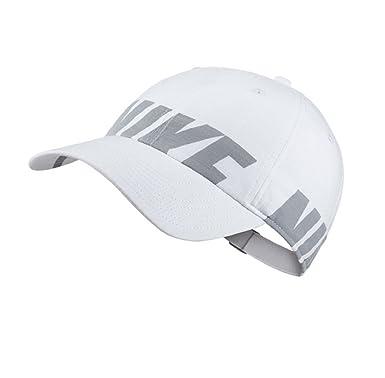 Nike e - Gorra de béisbol - para hombre blanco, gris Talla única ...