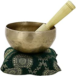 Singing Bowl For Healing Through Vibration Touch Bell Metal Art India