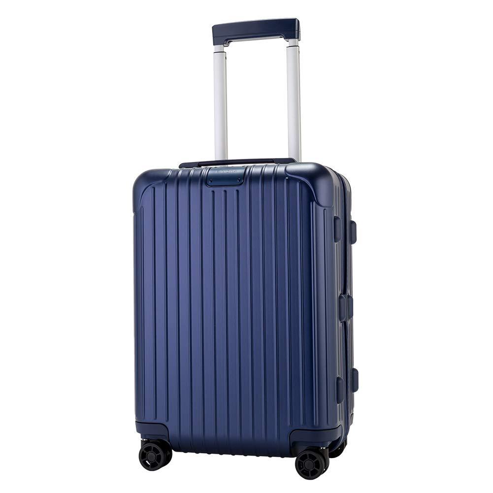 [ リモワ ] RIMOWA 【Newモデル】 エッセンシャル 83253614 キャビン 36L 4輪 スーツケース マットブルー Essential Cabin Matte Blue キャリーケース 旅行 旧 サルサ [並行輸入品]  マットブルー B07KS4Z1MN