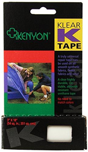Kenyon Klear K-Tape Repair (3 x 18-Inch)