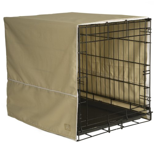 Pet Dreams Crate Cover Khaki product image