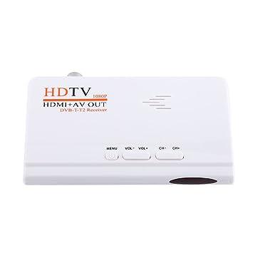 Fosa 1080p Hd Hdmi Dvb T2 Tv Box Tuner Receiver Amazonde Elektronik