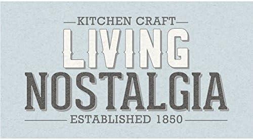 Living Nostalgia 2,3 litres Gris acier /émaill/é Carafe /à eau