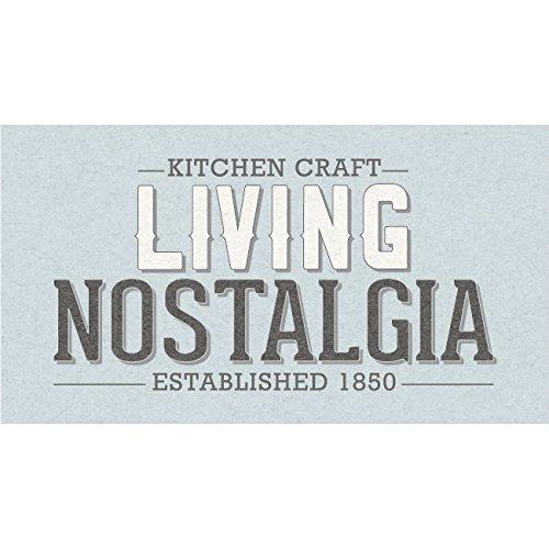 16.5 x Antique Cream Kitchencraft Living Nostalgia Metal Kitchen Compost Bin