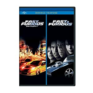 The Fast and the Furious: Tokyo Drift / Fast & Furious (2009) Double Feature (2006)