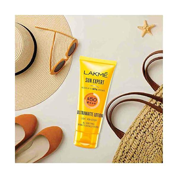 Lakme Sun Expert SPF 50 PA Fairness UV Sunscreen Lotion, 100ml