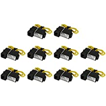 """TEMCo 10 LOT 1/4"""" NPT Electric Plastic Solenoid Air Water Valve NC 110V AC Pneumatic 5 YEAR WARRANTY"""