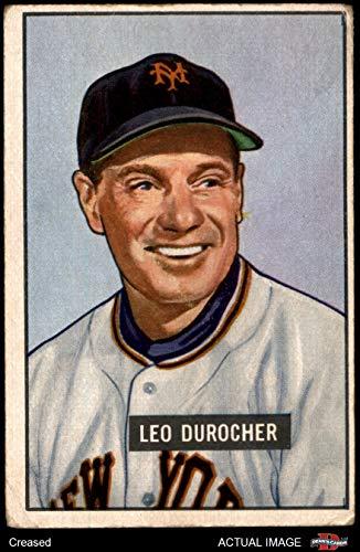 1951 Bowman # 233 Leo Durocher New York Giants (Baseball Card) Dean's Cards 3 - VG Giants