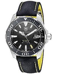 TAG Heuer Men's WAY211A.FC6362 Aquaracer Analog Display Swiss Automatic Black Watch
