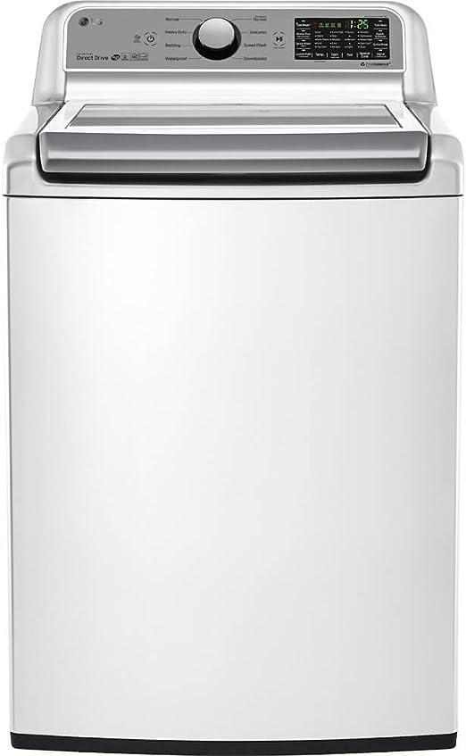 Amazon.com: LG wt7200cw 5.0 CU. FT. Alta eficiencia parte ...