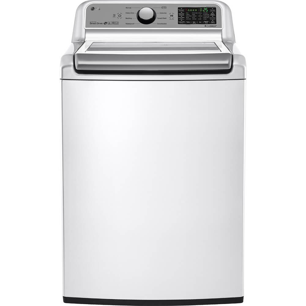 LG WT7200CW 5.0 Cu. Ft. High Efficiency Top Load White Washer WT7200CW