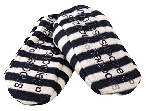 Snoozies Womens Stripes Slipper Socks Classic Stripes Classic Stripe