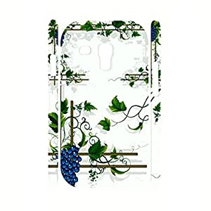 Picturesque Kawaii Vegetable Pattern Hard Shock Resistant Case Cover for Samsung Galaxy S3 Mini I8200 Case