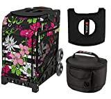Zuca Sport Bag - Petals & Stripes with Gift
