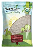 Food to Live Organic Psyllium Husk Powder (Non-GMO, Raw, Kosher, Ultra Fine, Unsweetened, Unflavored, Rich in Fiber, Natural Food Thickener, Great for Baking, Bulk) — 5 Pounds For Sale