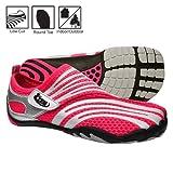 zemgear split toe running shoes - TerraRAZ XT Pink/Silver W9