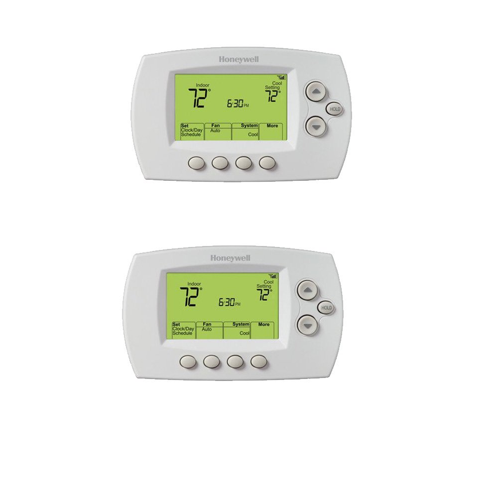 Honeywell RTH6580WF 7-Day Programmable Wi-Fi Thermostat (White 2 ...