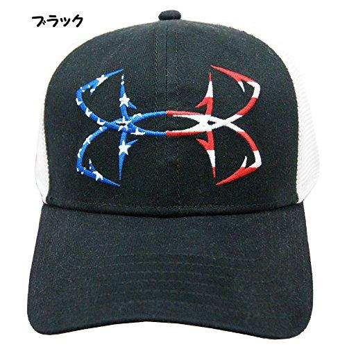 UNDER ARMOUR アンダーアーマー メンズ 帽子 ゴルフ アウトドア キャップ ヒートギア - ブラック/OSFA/57~60cm