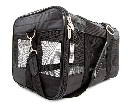 Sherpa Original Deluxe Pet Carrier  Large  Black