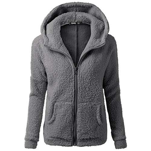 Dark Gray Diffuser - Liraly Womens Coats,Clearance Sale! 2018 Fashion Women Hooded Sweater Coat Winter Warm Wool Zipper Coat Cotton Coat Outwear(US-6 /CN-M,Dark Gray)