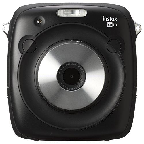Fujifilm SQ10 Cámara Instax Square, Pantalla LCD de 3', Color Negro